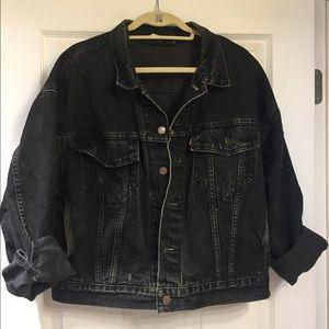 Vintage Levis Black jean jacket